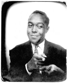 Jazz great Charlie Parker poses for a photo in 1940.