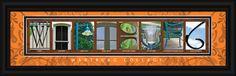 Wartburg College Officially Licensed Framed Letter Art
