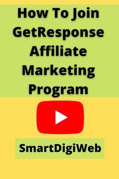 Marketing Program, Affiliate Marketing, Social Media Marketing, Programming, Join, How To Apply, Computer Programming, Coding