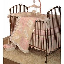 Love this!!! : ) Cotton Tale Heaven Sent Girls 4-piece Crib Bedding Set