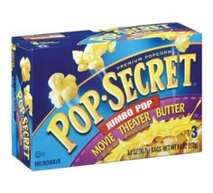 Pop Secret Jumbo Pop Movie Theater Butter Popcorn: 5 grams trans fat per serving (1 cup popped popcorn)