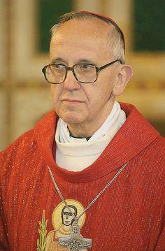 Cardinal Jorge Mario Bergoglio.