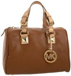 Its not a purse its a....MK tan satchel...Lol Love It!!!