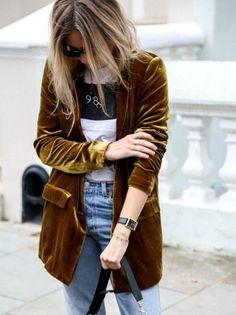 outfit with blazer Fashion Me Now, Fashion Mode, Moda Fashion, Fashion Week, 50 Fashion, Fashion Styles, High Fashion, Womens Fashion, Fashion Trends
