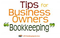 Advantages and disadvantages of doing your own bookkeeping small business bookkeeping httpapobookkeepingbetter bookkeeping tips for do it yourself business owners solutioingenieria Gallery