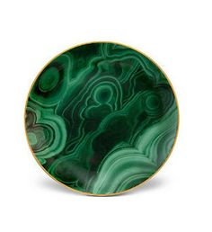 Malachite Canape Plate Set – Homer Design