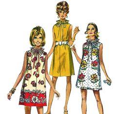 02301498f98b6 Simplicity 8793 1970s Misses Jiffy Easy Muu Muu Dress Beach Cover Up womens  vintage sewing pattern