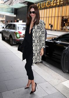 Miranda Kerr - I own this coat!!!