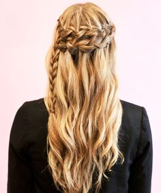 It has become really trendy to style your hair in braids and twists. All over the internet there are tutorials and videos showing you how to style your hair so you can look unique and stylish. Movies such as The Hunger Games are an influence for this trend. -Merrill Worlund