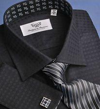 Sexy Black Diamond Formal Business Dress Shirt Limited Edition Designer Luxury   eBay