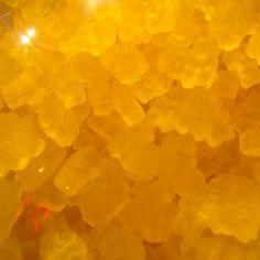 Mango gummy bears at 21 choices.