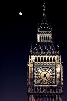 Big Ben, London Elizabeth Tower, The Clock Tower :) - Reisen Belle Villa, London Calling, Oh The Places You'll Go, Belle Photo, Great Britain, Wonders Of The World, United Kingdom, Tower, British