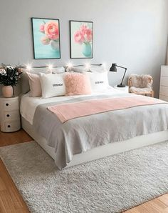 Trendy Bedroom Colors Ideas For Couples Bathroom Bedroom Decor For Teen Girls, Girl Bedroom Designs, Room Ideas Bedroom, Small Room Bedroom, Trendy Bedroom, Bedroom Colors, Lego Bedroom, Childs Bedroom, Kid Bedrooms