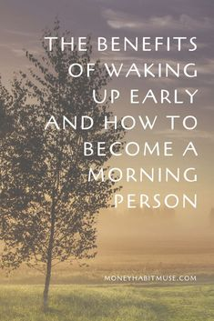 Once a die-hard night owl, I can tell you that you can become a morning person. Read this and find out why you should and how to become a morning person. Wake Up Early Quotes, Wake Up Quotes, How To Wake Up Early, Morning Quotes, Staying Up Late, Getting Up Early, My Daily Life, Life Is Good, What You Can Do