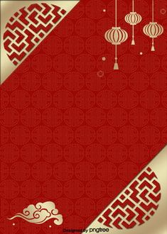 Chinese New Years Day Christmas Background Design- Chinese New Years Day Christmas Background Design red chinese style lamp frame pattern the new poster background -