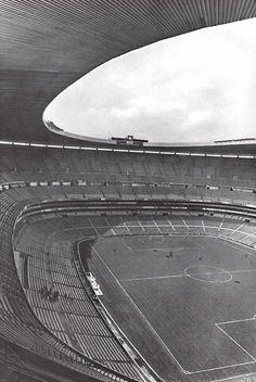 Vista interior, Estadio Azteca, Calz de Tlalpan 3465, Santa Ursula Coapa…