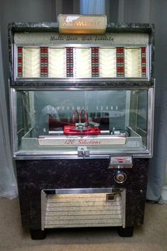 """This beautiful AMI Model """"F"""" is just stunning, fully disassembled and restored with fantastic sound, new needle, rebuilt amplifier the """"works"""", a truly beautiful Jukebox ready for your home or..."""