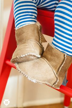 A cozy little style for cold days. Shop Sheepskin Pug Booties!