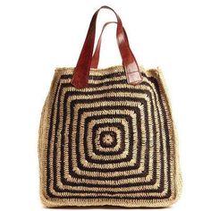 Mar Y Sol Panama Beach Bag | Espresso .: Sequins and Sand Resort Wear :.