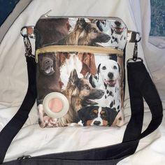 Dog walking shoulder cross body bag with doggy bag dispenser compartment. Satchel, Crossbody Bag, Pull Through, Dog Walking, Bag Making, Messenger Bag, Diaper Bag, Backpacks, Zip