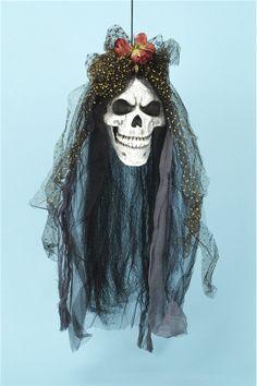 Skull Bride Prop #Día de los Muertos #day of the dead #dia de muertos #calavera #catrina