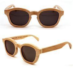 Eco-friendly sunglasses - awesome