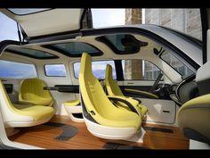 2011 Kia KV7 Concept Car - Interior. Image: Kia