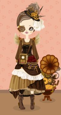 Steampunk cute