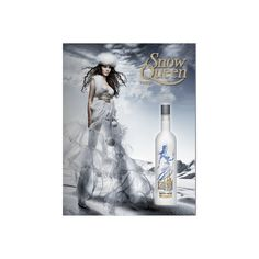 Once Upon A Blog...: 12 Days: Snow Queen Vodka ❤ liked on Polyvore