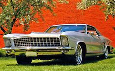 1963 Buick Riviera Silver Arrow concept car
