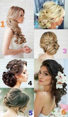 Our favourite hairstyle is no. 4. What is yours? | Coafura prefereata de noi este cea cu numarul 4. Voua care va place?