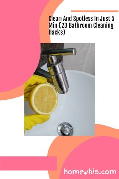 Discover the 23 cleaning hacks that are safe, effective and could potentially save you hundreds of dollars every year all within this article. Learn how to remove permanent stains, tough dirt, pet stains, grime and more with safe and natural cleaning ingredients like baking soda, vinegar, hydrogen peroxide and more! The blog post covers bathroom cleaning hacks, house cleaning tips and kitchen cleaning hacks. #homewhis #cleaning #clean #cleaninghacks #bakingsoda #vinegar Bathroom Sink Organization, Fridge Organization, Bathroom Cleaning Hacks, Kitchen Cleaning, House Cleaning Tips, Deep Cleaning, Organization Hacks, Hard Water Stains, Soap Scum