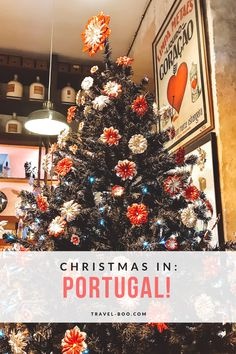 Visiting Christmas in Portugal? See our guide on why you should! Christmas in Portugal | Portugal Christmas | Christmas in Lisbon | Lisbon Christmas Market | Portugal Christmas Markets | Winter in Lisbon | Winter in Portugal | Christmas in Porto | Porto Christmas | Christmas in the Algarve | Algarve Christmas | Europe Christmas | Christmas in Europe #portugaltravel #portugalholidays #visitingportugal #portugaltraveltips #lisbon #porto #algarve