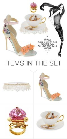 """""""Love makes me beautiful"""" by didesi ❤ liked on Polyvore featuring art"""