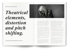 Art direction and identity for independent magazine Volture.