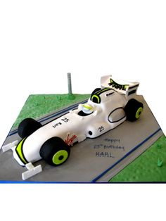 Be Button for the day with your own personalised Formular 1 ride