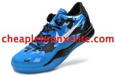 Kobe 8 Shoes Elite Superhero Blue Black White 555035 401