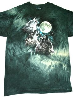 Vintage Howling Wolves Shirt Mens Size XXL $22.00