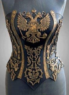 "Steampunk Tendencies on Twitter: ""Handcrafted Leather Steampunk Corset with…"