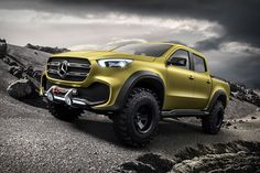 Still in the late stages of development, the Mercedes-Benz X-Class Concept Truck will be the Tri-Star's first foray into the pickup market. Officially part of the Mercedes-Benz Vans lineup, this mid-sized pickup will offer all the creature comforts the company...