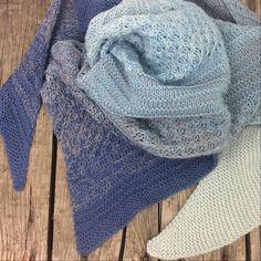 Shades of Alpaca Silk Lana Gross Dreieckstuch Mustermix - Dreieckstuch Stricken Crochet Pullover Pattern, Poncho Knitting Patterns, Knitting Socks, Crochet Patterns, Knitting Scarves, Triangle Scarf, Crochet Hair Styles, Pattern Mixing, Alpacas