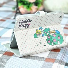 Hello Kitty Leather Smart Cover for ipad mini Orchard   http://www.case2case.net/hello-kitty-leather-smart-cover-for-ipad-mini-orchard.html