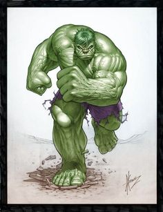 #Hulk #Fan #Art. (HULK_POSTER) By: Dale Keown. (THE * 5 * STÅR * ÅWARD * OF: * AW YEAH, IT'S MAJOR ÅWESOMENESS!!!™)[THANK Ü 4 PINNING!!!<·><]<©>ÅÅÅ+(OB4E)
