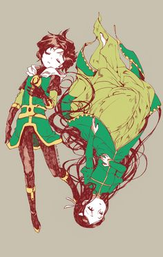 Loki and Leah by FermiumIce.deviantart.com on @deviantART