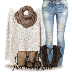 Hot Winter Outfit Fashion Ideas For 2015 Mix and match trendy casual outfits http://www.justtrendygirls.com/mix-and-match-trendy-casual-outfits/