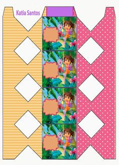 Dora The Explorer, 2nd Birthday, Gift Wrapping, Printables, Quilts, Party, Diy, Gift Cards, Html