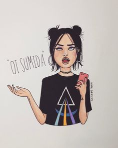 "23.5 mil curtidas, 528 comentários - Nath Araújo (@nanaths) no Instagram: ""vamo marcar de marcar alguma coisa"" Tumblr Art, Tumblr Girls, Wallpapers Tumblr, Arte Pop, Cute Art, Girl Power, Art Drawings, Character Design, Illustration Art"