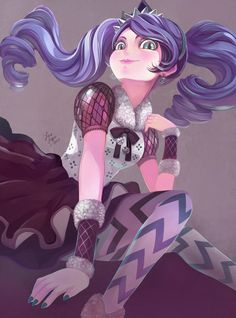 """oraclesaturn: """"Kitty Cheshire by OracleSaturn fanart: Ever After High """""""