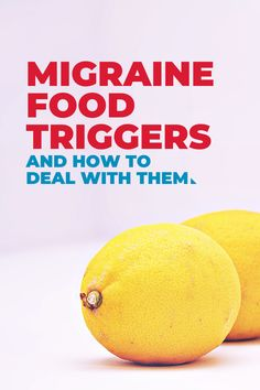 These foods could be triggering your migraines and headaches. Healthy Diet Tips, Healthy Living Tips, Healthy Life, Healthy Eating, Healthy Recipes, Food For Headaches, Foods For Migraines, Migraine Trigger Foods, Migraine Triggers