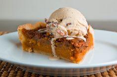 Sweet Potato Pecan (& Bourbon) Pie | 23 Thanksgiving Desserts That Are Full Of Bourbon